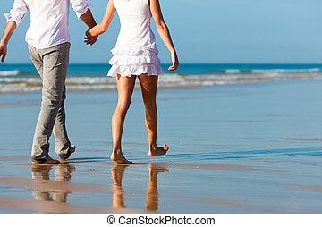 恋人, 歩きなさい, 持つこと, 休暇