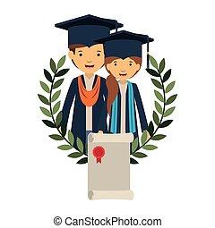 恋人, 特徴, avatar, 証明書, 卒業生