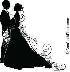 恋人, 結婚式