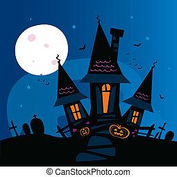 恐い, 幽霊が出る家