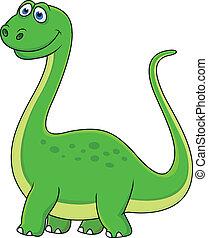 恐竜, 漫画