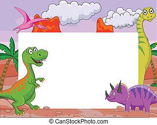 恐竜, 空白のサイン