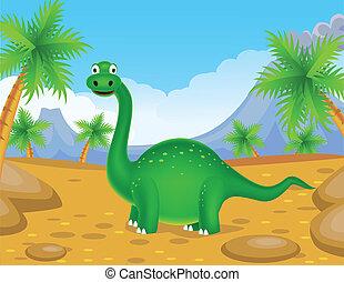 恐竜, 緑