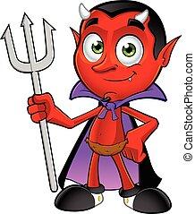 悪魔, 特徴, 漫画