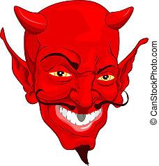悪魔, 顔