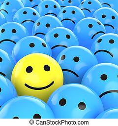 悲しい, 幸せ, ∥間に∥, 一人一人, smiley