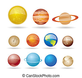 惑星, 太陽