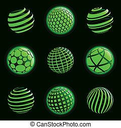 惑星, icons., 技術