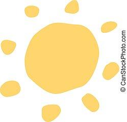 想像力が豊かである, シンボル, 太陽