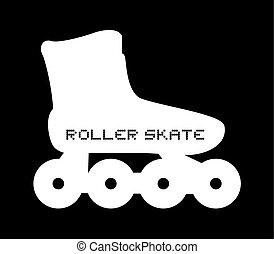 想像力が豊かである, スケート, ローラー, アイコン