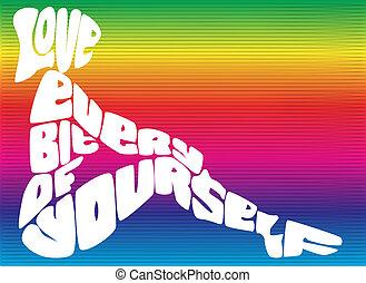 愛, あなた自身