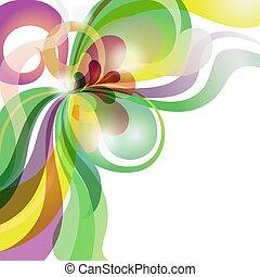 愛, お祝い, 抽象的, 主題, 背景, カラフルである