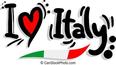 愛, イタリア