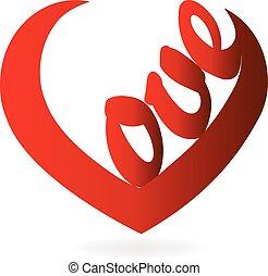 愛, 形, 単語, 心