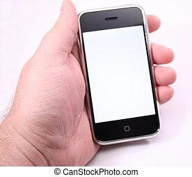 感触, 電話, スクリーン, 現代, 白