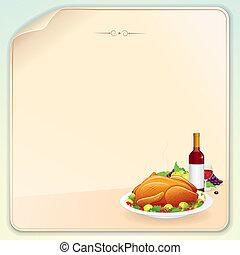 感謝祭, カード, 挨拶