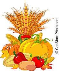 感謝祭, 収穫, /, デザイン