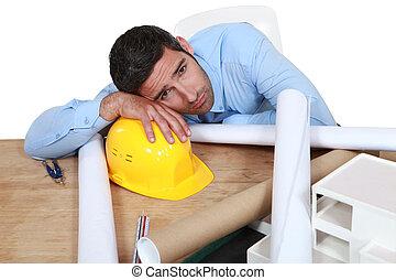 憂うつにされた, 建築家