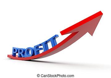 成長する, 利益, グラフ