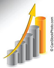 成長, デザイン, ビジネス 実例