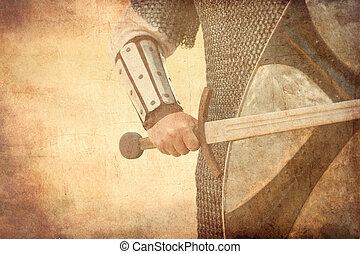 戦士, 剣