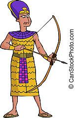 戦士, 古代, エジプト人