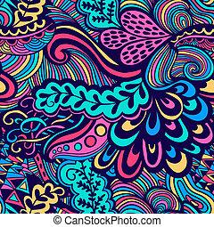 手ざわり, 夏, template., バックグラウンド。, pattern., 背景。, 網, パターン, ページ, seamless, ベクトル, 無限, 明るい, 抽象的, 民族, 背景, 壁紙, flowers., いっぱいになる, 使用