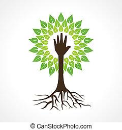 手助け, 木, 作りなさい