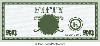 手形, お金, image., 50