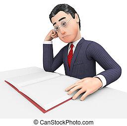 手段, 勉強, 経営者, 本, ビジネスマン, 博学, 読書