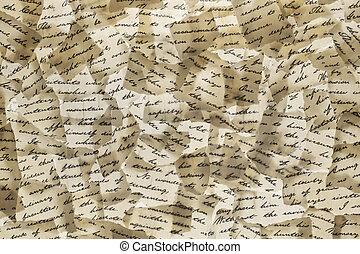 手紙, 背景