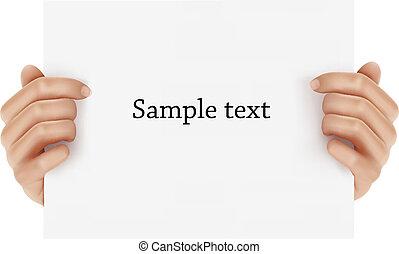 手, 保有物, ビジネス, object., 2
