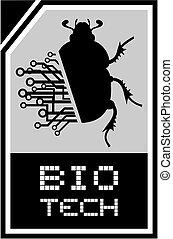 技術, かぶと虫