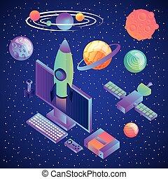 技術, 現実, 未来派, 事実上, 催し物