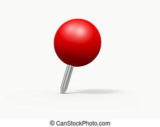 押しの pin