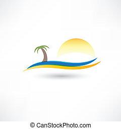 抽象概念, 浜, 弛緩, アイコン