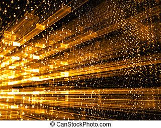 抽象的, デジタルによって 発生させる イメージ