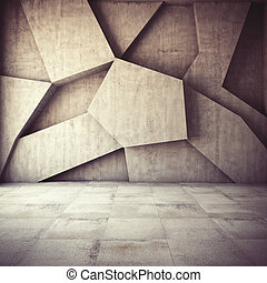 抽象的, 幾何学的, 背景