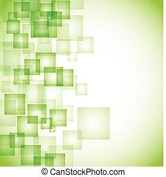 抽象的, 背景, 緑, 広場