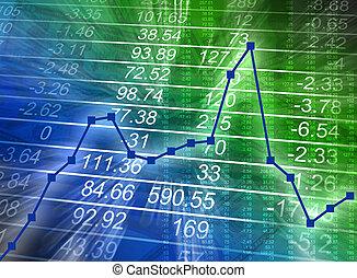 抽象的, 財政の図表, 数