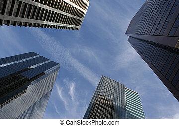 抽象的, 超高層ビル