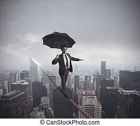 挑戦, 生活, 危険, ビジネス
