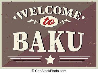 挨拶, baku, 歓迎, 背景, -, 白, カード, 型