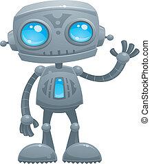 振ること, ロボット