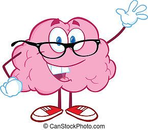 振ること, 脳, 教師, 挨拶