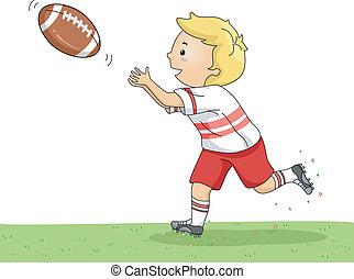 捕獲物, フットボール