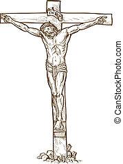 掛かること, イエス・キリスト, 交差点