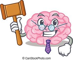 控え目, 裁判官, 人間の頭脳, デザイン, 身に着けていること, 漫画, ガラス, 特徴