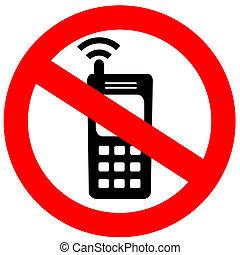 携帯電話, いいえ, 印