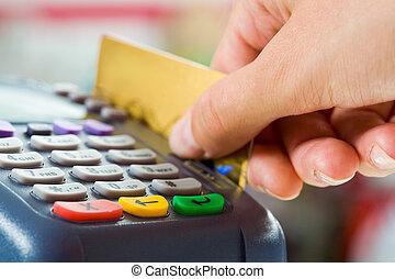 支払い, カード